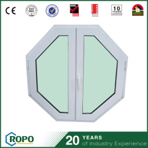European Style House PVC Octagonal Window pictures & photos