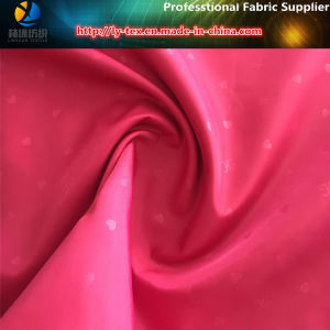 Embossed Polyester Taffeta, 290t Polyester Fabric with PA Coating for Lining pictures & photos
