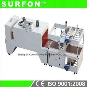 Automatic Straight Feeding Sleeve Shrink Wrap Machine pictures & photos