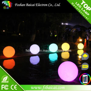Solar Garden Water Floating Waterproof LED Light Ball pictures & photos