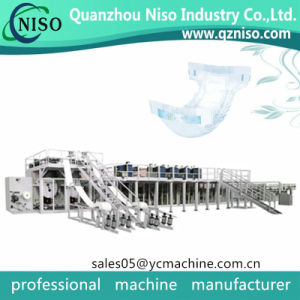 Dry Ultra Leakguards Overnight Baby Diapers Machine Manufacturing pictures & photos