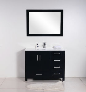 Black Matt Painting Bathroom Cabinet (white matt) pictures & photos