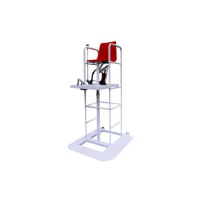 Hydraulic Height Adjustable 1.8 - 2.3 M Volleyball Badminton Umpire Chair pictures & photos