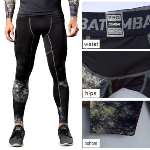 Man′s Camouflage Gym Wear Compression Long Sleeve Tight Sportswear pictures & photos