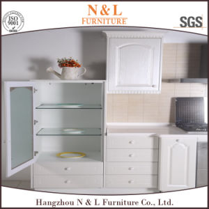 PVC Home Furniture Custom Made Wooden Kitchen Furniture pictures & photos