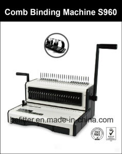 S960 F4 Size Base Heavy Duty Comb Binding Machine pictures & photos