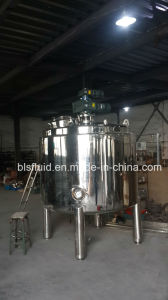 Cream Ointment Lotion Cosmetics Vacuum Mixing Tank Blending Machine pictures & photos