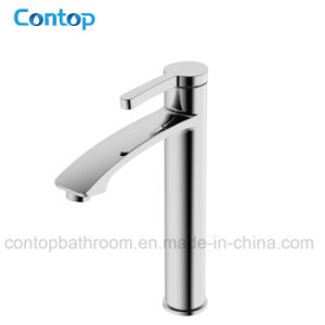 New Design Bathroom Products Brass High-Rise Wash Basin Mixer Basin Tap pictures & photos