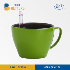 High-Grade Desktop Mini Flower Pot Texture Grey pictures & photos