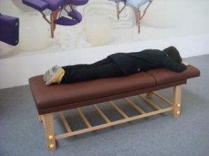 Fix Stationary Massage Table, Beauty Bed for SPA pictures & photos