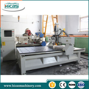 OEM Move Fast Wooden Doors CNC Router 4 Axis pictures & photos