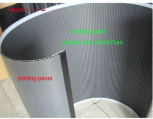Oval Shape Promotion Table Wtih Prints (PM-07-N) pictures & photos