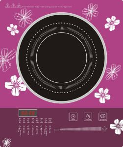 Slide and Sensor Control Portable Induction Cooker Sm-S12h pictures & photos