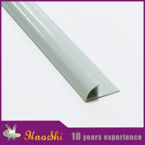 Decorative PVC Tile Corner Trim with Round Close Type pictures & photos