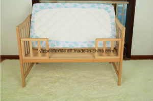 100% Cotton Muslin Crib Fitted Sheet pictures & photos