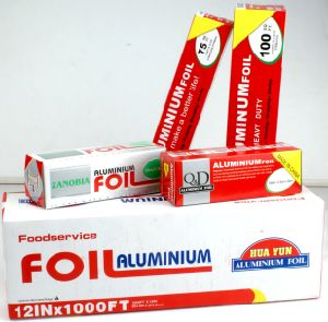 Barbecue Use Household Aluminum Foil Roll with 0.011X305mm pictures & photos