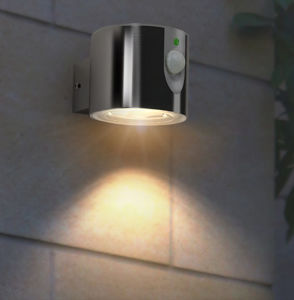 Solar Ss LED Garden Wall Light pictures & photos