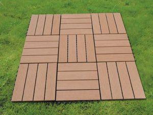 600*600 Exterior Flooring Tiles Villa Decoration WPC Easy DIY Tile pictures & photos