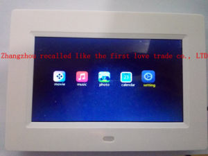 LCD Digital Display Clock at Night pictures & photos