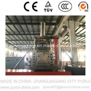 Double Stage Extruder Machine for HDPE Flakes Pelletizing (zhangjiagang) pictures & photos