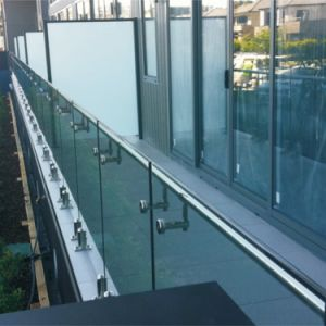 Glass Balustrade/Stainless Steel Glass Railing with Tempered Glass pictures & photos