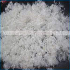 High Quality Washed Duck Down Feather Raw Material pictures & photos
