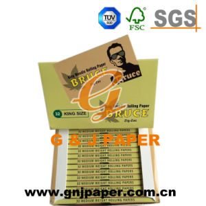High Quality Slim Hemp Paper for Hand Cigarette Wrapping pictures & photos