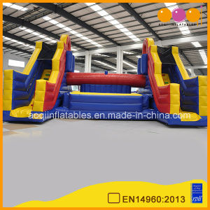 High Quality Factory Price Interactive Inflatable Gladiator Game Inflatable Fighting Game for Adult (AQ1760-2) pictures & photos