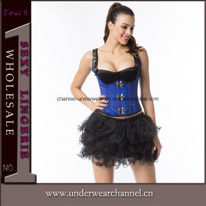 High Quality Lose Fat Lingerie Corset Latex Body Shaper Slimming Waist Trainer (TA2029) pictures & photos