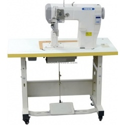 Automatic Roller Feed Postbed Lockstitch Sewing Machine pictures & photos