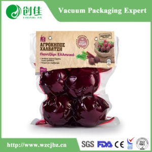 3 Side Seal Cooked Plastic Packaging Food Vacuum Storage Bag pictures & photos