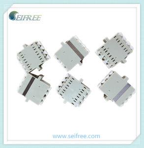 mm Optical Fiber Quad LC Adaptor pictures & photos