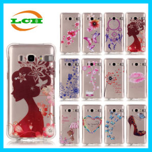 Colored Drawing Diamonds Calling Flash Phone Cases for Samsung J7/J5/J1 pictures & photos