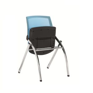 Metal Folding Chair with High Standard pictures & photos