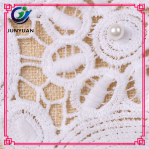 Hot Selling Computer Embroidery Lace Collar pictures & photos
