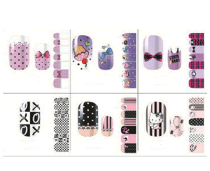 Lovely Ice Cream Nail Art Stickers Waterproof Nail Stickers