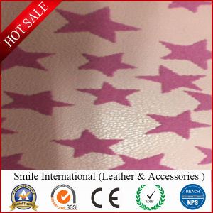 PU with Flocking Artificial Leather pictures & photos