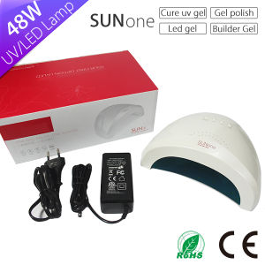Future Trends 2017 Newly Product Professional 24/48watt UV LED Nail Lamp Dryer Sunone pictures & photos