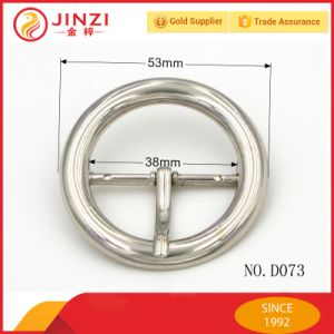 Large Metal Pin Buckle Round Pin Buckle Slider Buckle for Fashion Bag pictures & photos
