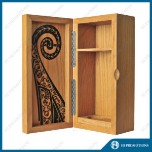 Wooden Packaging and Storage Box for Liquor Bottle (HJ-PWSY03) pictures & photos
