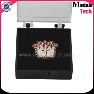 Top Sale Creative Custom Aluminum Alloy Name Plate Lapel Pin pictures & photos