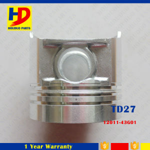 Piston for Excavator Engine Spare Parts Td27 Piston with OEM (12011-63G01) pictures & photos