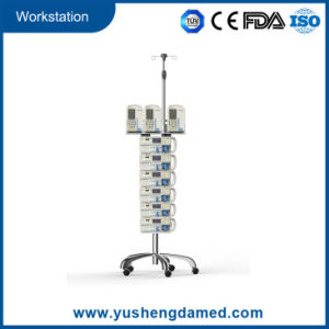 Medical Hospital Equipment Infusion Syringe Pump Workstaion pictures & photos