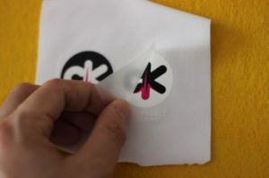 Custom Clothing Labels No Iron Lovely Heat Transfer Sticker Screen Print Transfers pictures & photos