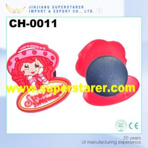 Strawberry Cartoon EVA Clogs Shoe Charm Decorations Charms pictures & photos