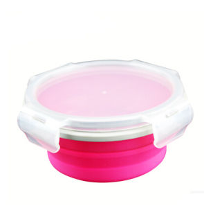 Food Grade Silicone Collapsible Bowl, Heat Resistant Food Container, Food Storage pictures & photos