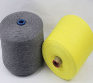 Cotton Cashmere Blended Yarn in China pictures & photos