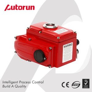 Wenzhou Manufacturer Shutoff Quarter Rotary Motorized Actuator  pictures & photos