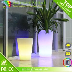 LED Indoor Flower Pot Modern Outdoor LED Flower Giant Flower Pot