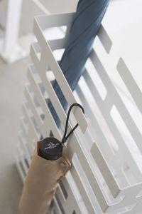 High Quality White Exquisite Freestanding Umbrella Holder pictures & photos
